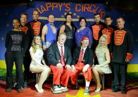 Happys Circus cast 2014